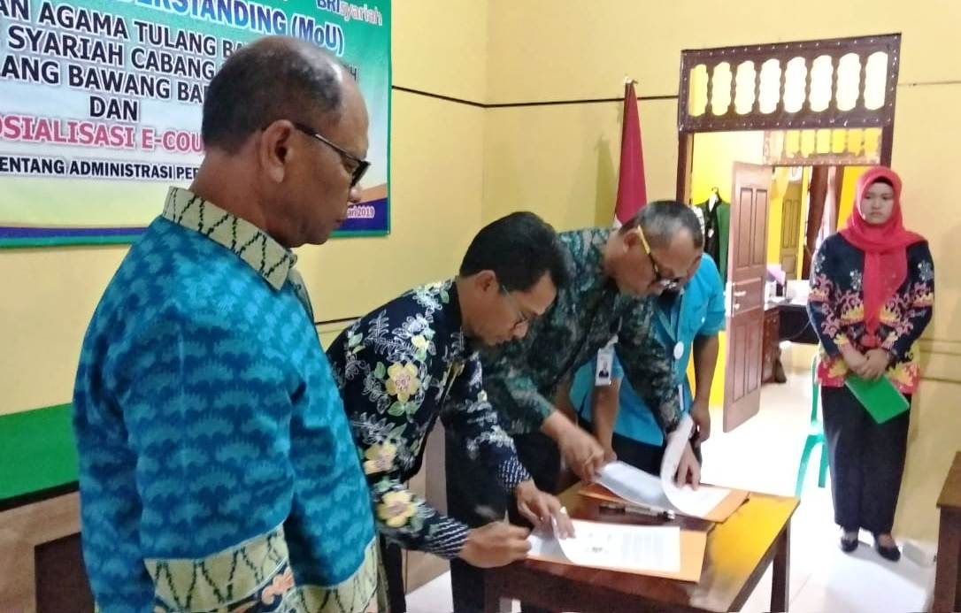 PA Tulang Bawang Tengah Bersama Bri Syariah KCP Tulang ...