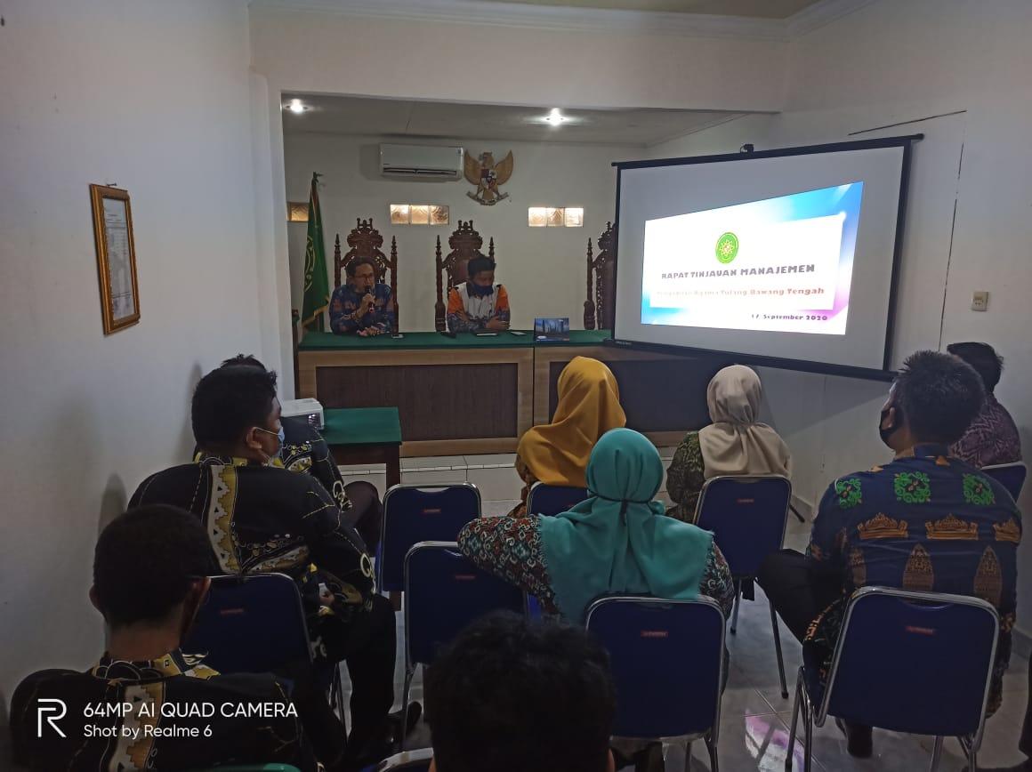 Closing Meeting Assesmen Internal PA Tulang Bawang Tengah